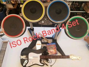 Looking for Rock Band 4 Set Ps4 or Xbox One for Sale in Murrysville, PA
