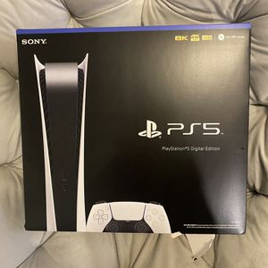 Sony PlayStation 5 Digital Edition Console for Sale in Scottsdale, AZ