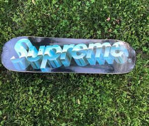 Supreme Chrome Logo Skateboard Deck for Sale in Silver Spring, MD