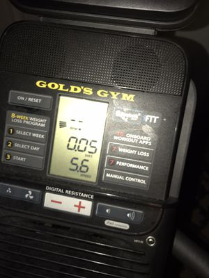 Gold's gym Workout bike (Exercise bike) for Sale in Oakland Park, FL