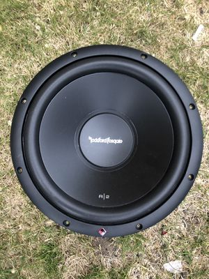 "Rockford fosgate 12"" double coil 4 omhs!!! for Sale in West Valley City, UT"