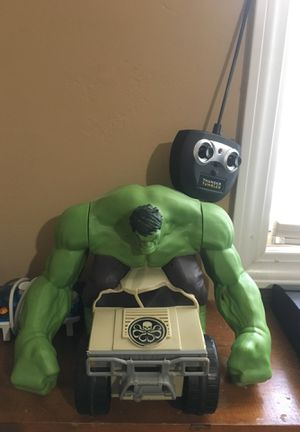Hulk tumbler remote control for Sale in Davenport, IA