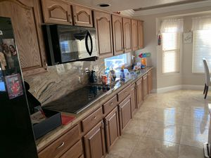 Kitchen cabinet doors and hinges for Sale in Las Vegas, NV
