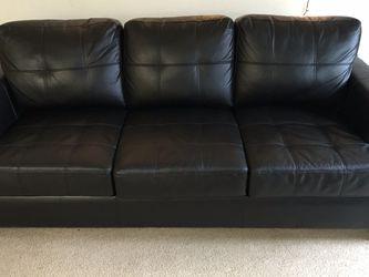 Sleeper Sofa Black - Queen for Sale in Malden,  MA