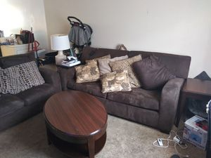 Brown Living Room Set From Ashley's Furniture for Sale in Charlotte, NC