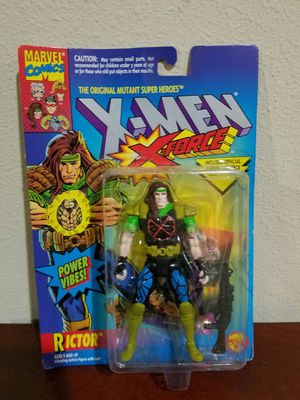 Rictor X-Force X-Men Marvel Comics ToyBiz RARE VINTAGE COLLECTABLE Action Figure for Sale in Thonotosassa, FL