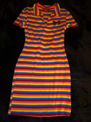butterfly striped collared dress 🦋 for Sale in Fort Myers, FL