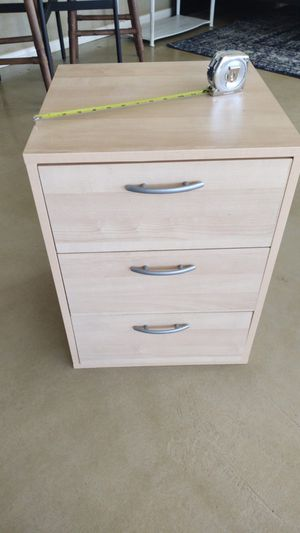 IKEA birch colored side table for Sale in Yucca Valley, CA
