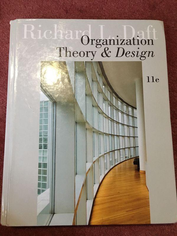 Richard L. Daft Organization Theory and Design