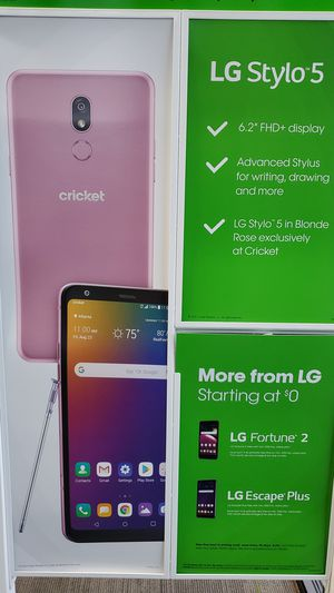 Cricket wireless for Sale in Irving, TX