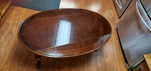 Cherry wood Coffee table & side table for Sale in Boring, OR