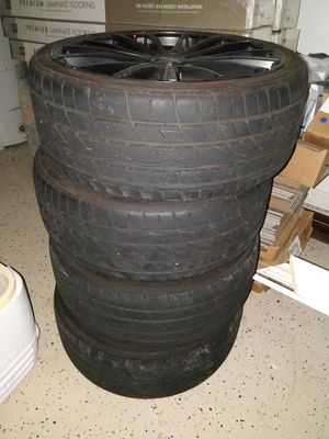4 tires with FREE rims for Sale in Riverview, FL