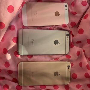 3 Iphones 2 for parts iphone 5 excellent condition for Sale in Allentown, PA