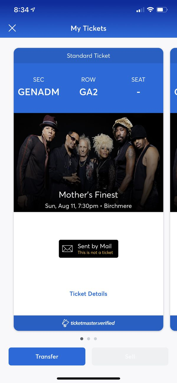 2 Mothers Finest Tickets @ Birchmere, Alexandria, VA