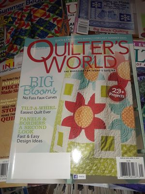 Quilting Magazines for Sale in Quincy, IL