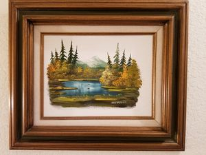 """Wall art original oil paint Dimension: 16.5""""H x 19""""W for Sale in Tacoma, WA"""
