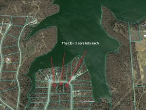 (3) - 1 acre lots with lake access sold separately or together with a discount for Sale in Addison, TX