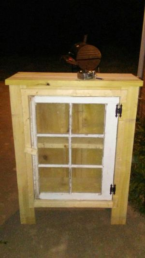 Handmade window cabinet for Sale in MD, US