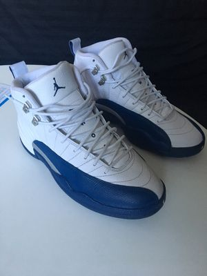 NIKE AIR JORDAN 12 French Blue SIZE 9 US for Sale in Los Angeles, CA