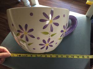 Giant teacup planter for Sale in Price, UT