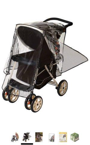 Jogger stroller rain cover for Sale in Brier, WA