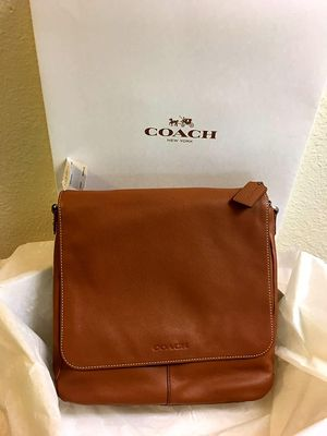 Men's Leather Messenger Bag for Sale in San Diego, CA