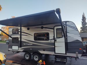 2018 RV trailer Springdale 20ft for Sale in Salida, CA