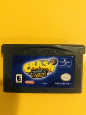 Gameboy Advance Crash 2 for Sale in South El Monte, CA