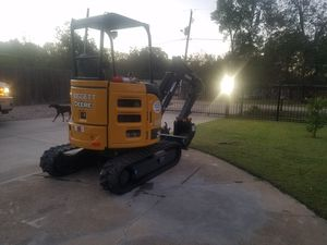 mini excavator job trenching any type for Sale in Houston, TX