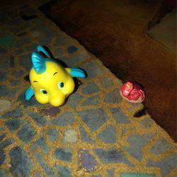 Disney - Little Mermaid - Sebastian and flounder for Sale in Providence,  RI