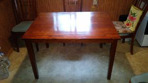 Table n 3 chair for Sale in Grayling, MI