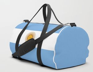 Handmade Argentinian Flag Duffle Bag for Sale in Miami, FL