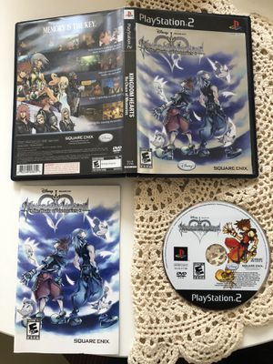 Kingdom Hearts Re:Chain of memories for PS2 for Sale in Los Angeles, CA