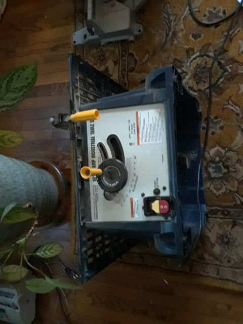"""Chicago Electric 10 """" 13 Amp Industrial Table Saw"""