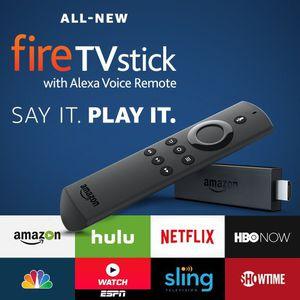 Amazon Fire Tv Stick with Alexa Voice Remote for Sale in Virginia Beach, VA
