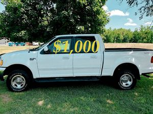 URGENT🎁✔$1,OOO ,Original Owner 2OO2 Ford F-150 New tires🎁✔URGENT for Sale in Garrison, MD