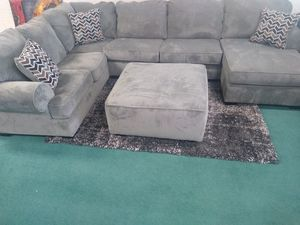 Brand New sectional couch with the ottoman for Sale in Richmond, VA