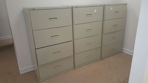 120 each 4 drawers Lateral file cabinet for Sale in Woodbridge, VA