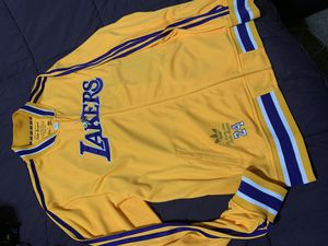 KOBE BRYANT limited nba adidas legendary lakers warm up jacket all sewn for Sale in Denver, CO
