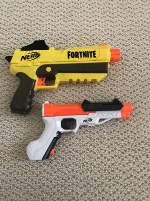 NERF Fortnite pistol and Sharpfire Pistol for Sale in Palmdale, CA