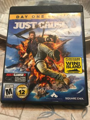 Just cause 3 Xbox one for Sale in Visalia, CA