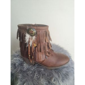 Justice big girls cowboy boot size 2 for Sale in Blacklick, OH