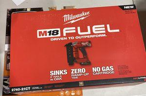 Milwaukee - fuel M18 nail gun for Sale in Burbank, CA