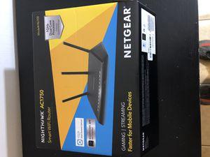 NETGEAR Nighthawk Smart WiFi Router (R6700) - AC1750 for Sale in Las Vegas, NV