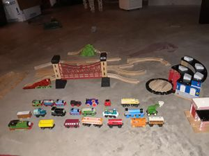 Nice Wooden Thomas The Train Set for Sale in Louisville, KY