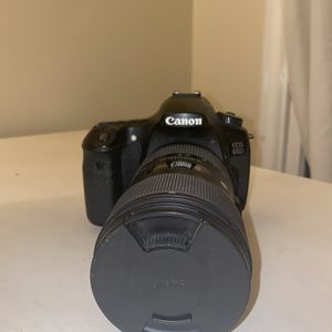 Sigma 18-35 f/1.8 DC HSM Art Lens For Canon + Canon 60 D for Sale in Los Angeles, CA