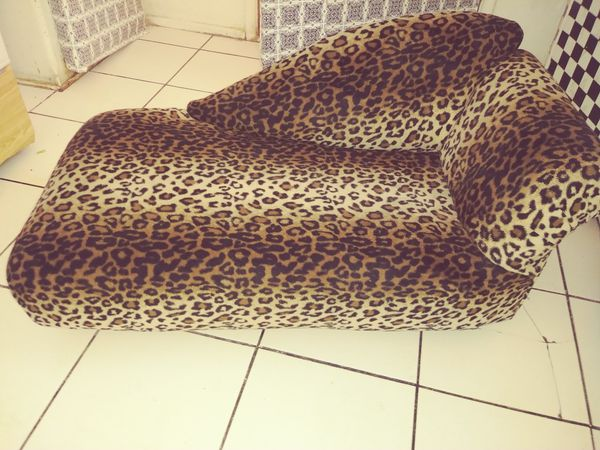 Pet couch for Cat or Dog leopard print