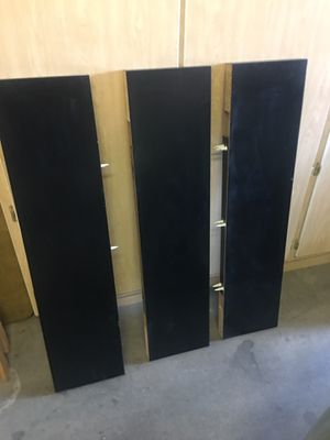 IKEA black floating shelves for Sale in Chandler, AZ