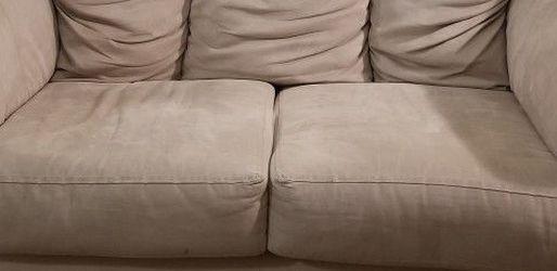 Beige/Cream Loveseat & Sofa for Sale in Columbus,  OH