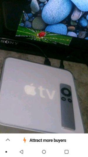 160gb Apple TV w/ Remote for Sale in Sacramento, CA